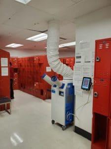 locker room spot cooler